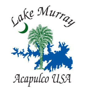 lake murray acapulco USA outlines